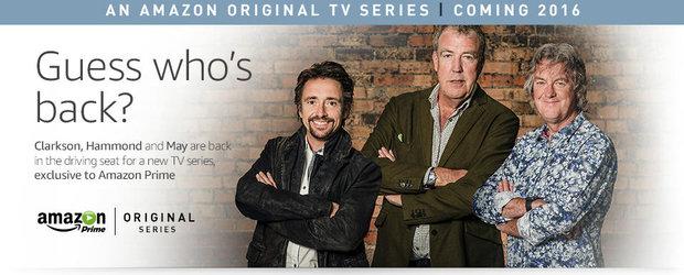 Clarkson, Hammond si May vor avea o noua emisiune din aceasta toamna. Iata ce trebuie sa stii despre noul show