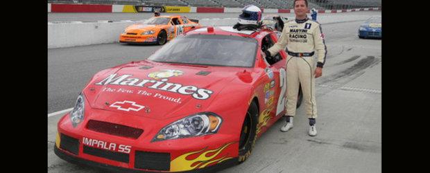 Claudiu David se pregateste pentru NASCAR pe un Chevrolet Impala