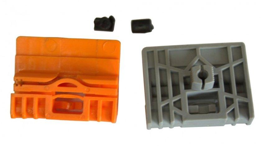Clema Mecanism ridicare geam Audi A4 (B6 B7) 2000-2008 fata stanga/dreapta , pentru macara electrica reparatie macara , set 2 buc