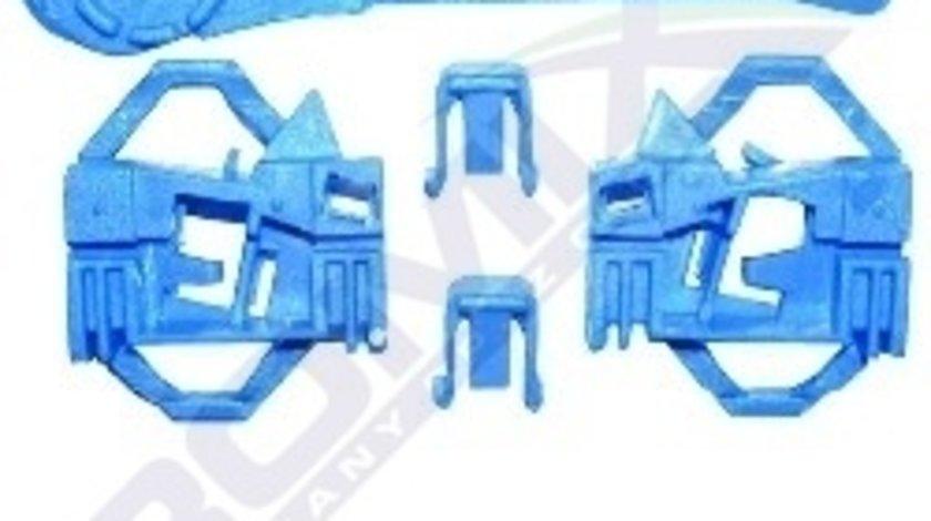 Clema Mecanism ridicare geam Seat Ibiza Cordoba 6L, Vw Polo Classic 6KV, kit reparatie macara Fata , Stanga, fara sistem montaj cablu