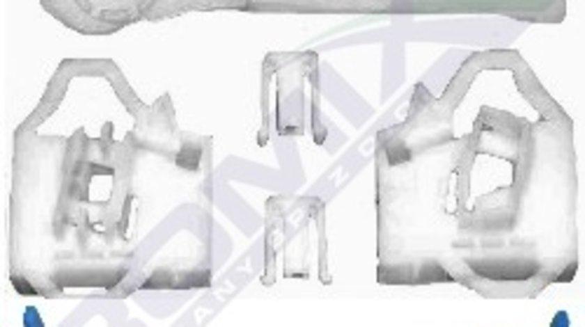 Clema Mecanism ridicare geam Seat Ibiza Cordoba 6L, Vw Polo Classic 6KV, kit reparatie macara Fata , Dreapta, cu sistem fixare cablu