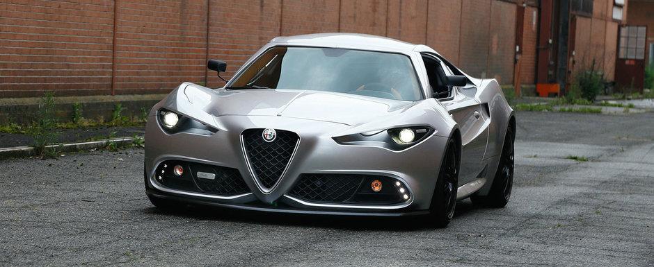 Clientii s-ar fi batut pe ea daca arata asa de la inceput. Masina cu motor central de la Alfa Romeo a fost reinventata