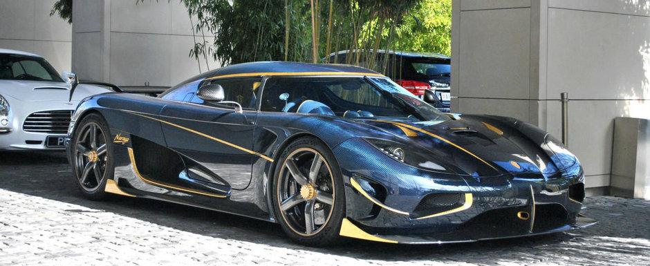 Clipul a devenit VIRAL. Un valet ghinionist se opreste cu un Koenigsegg de 3 milioane de dolari intr-un Lamborghini