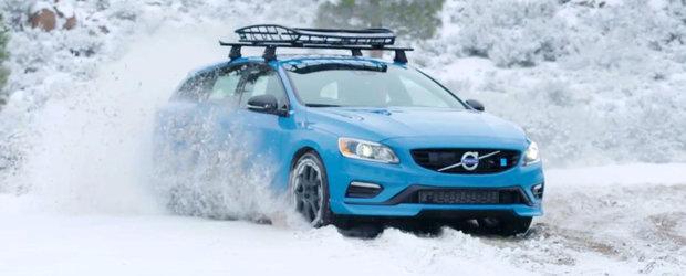 Clipul ASTA te va face sa-ti doresti cu ardoare un Volvo V60 Polestar