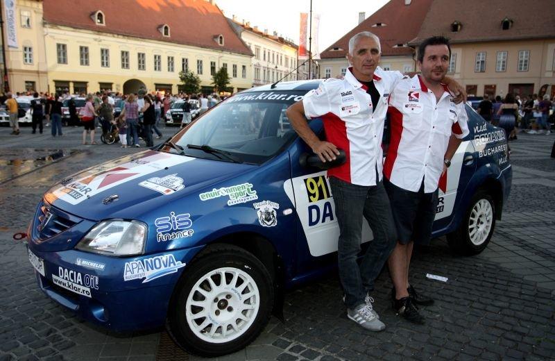 CNR 2011: Francois Delecour a pilotat o Dacia Logan la Raliul Sibiului
