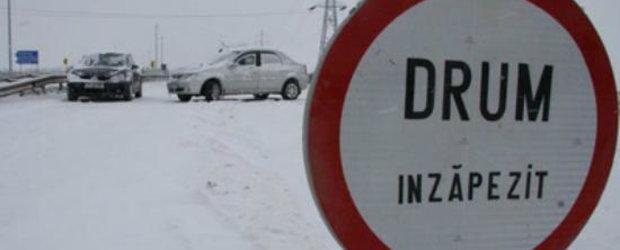 Cod portocaliu in Romania! Afla ce drumuri sunt inchise!
