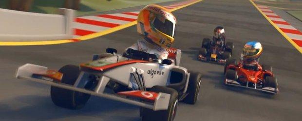 Codemasters anunta  F1 RACE STARS