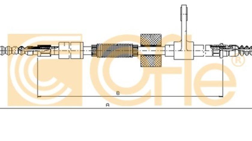 Cofle cablu stanga frana parcare pt alfa romeo 156