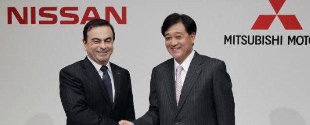 Colaborarea Nissan-Mitsubishi se extinde
