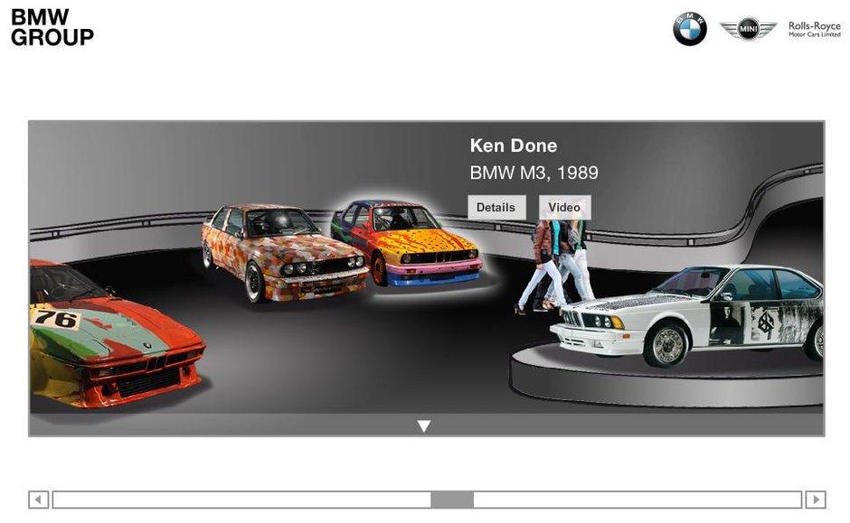 Colectia BMW Art Cars poate fi de acum admirata online