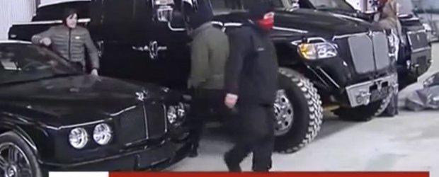 Colectia de masini a fiului fostului presedinte ucrainean, Viktor Yanukovych