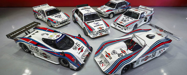 Colectie impresionanta de Lancia scoasa la vanzare. Include 3 masini de raliu si 3 care au alergat la anduranta