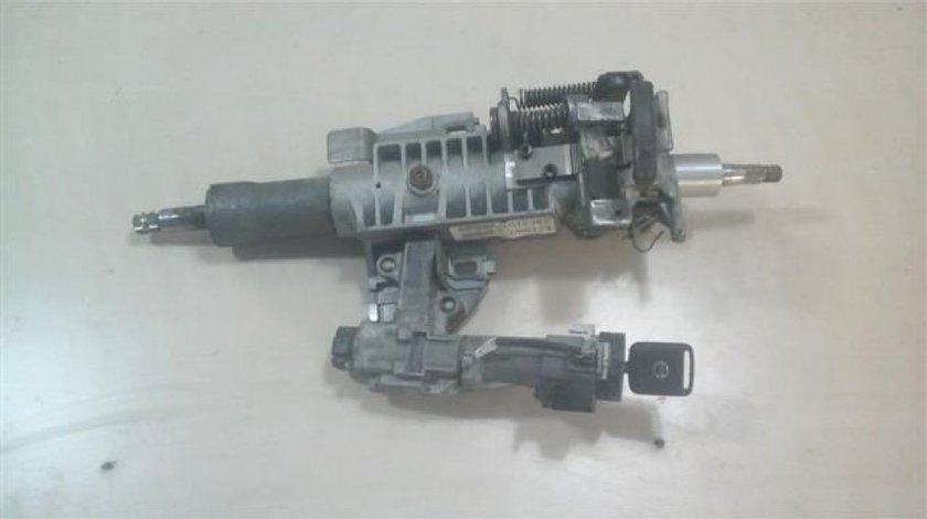 Coloana directie cu reglaj manual Nissan Navara An 2005-2010 include contact + cheie