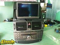 Comand Aps Ntg Mercedes C W204 Glk Navigatie Mare Hdd 40gb DVD SD card