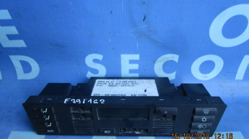 Comanda aer BMW E39 530d; 83859289 (un buton lipsa)