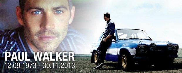 Comemorare Paul Walker, 7 decembrie, Bucuresti