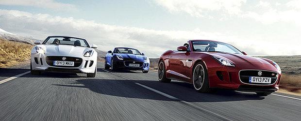 Comenzi record pentru modelul Jaguar F-Type