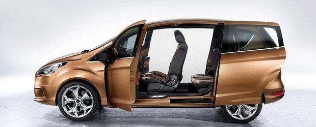 Comenzile pentru Ford B-Max au inceput