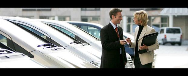 Comertul romanesc cu autovehicule a crescut cu 6% in 2011