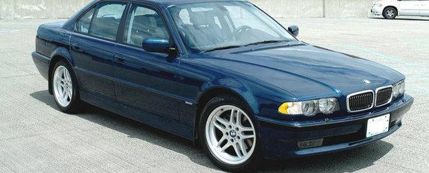 Comoara de pe internet: BMW-ul E38 e Seria 7-le pe care sa-l detii