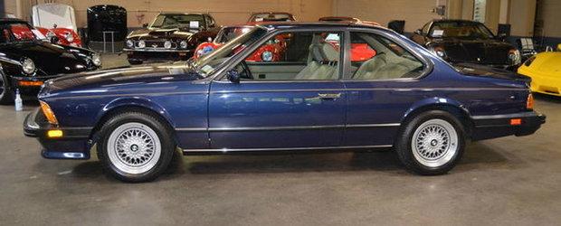 Comoara de pe internet: Un BMW M6 E24 aproape nou e de vanzare pe eBay