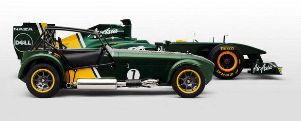 Compania Caterham este de vanzare, cu tot cu echipa de Formula 1