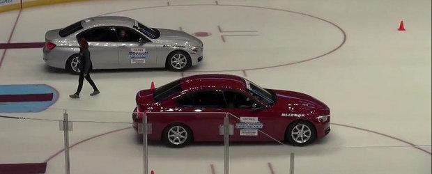 Comparatie intre anvelopele de iarna si cele all-season, cu 2 masini identice