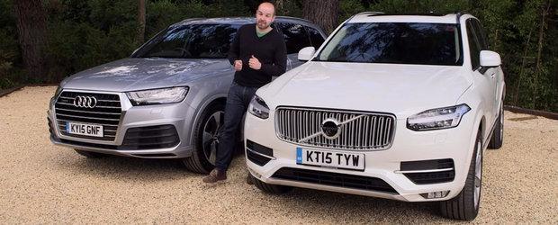 Comparatie intre Audi Q7 si Volvo XC90: Care e cea mai buna alegere?