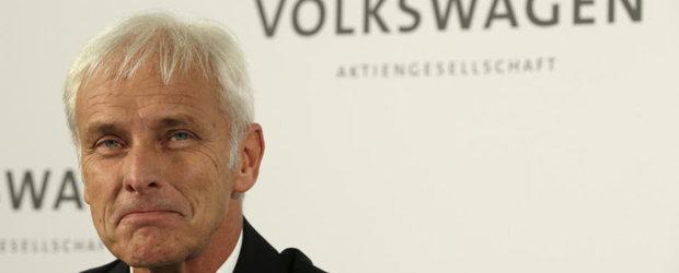 Compensatiile pentru europenii afectati de Dieselgate nu vor fi aceleasi ca si in SUA, a declarat seful Volkswagen
