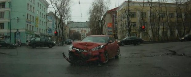 Compilatie cu accidente auto din care avem ce invata