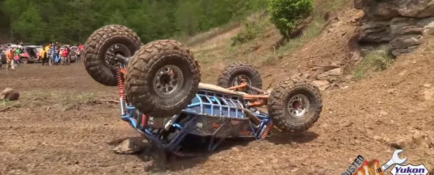 Compilatie cu accidente nevinovate din timpul unor probe extreme de off-road