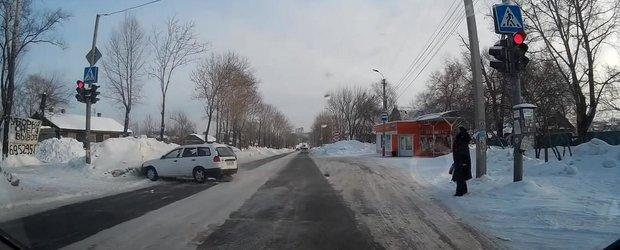 Compilatie cu ultimele accidente petrecute pe timp de iarna