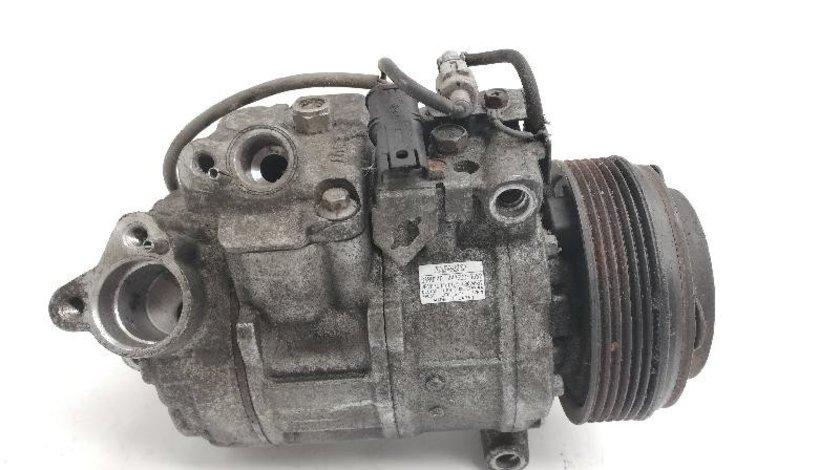 Compresor AC DENSO 6SBU14C 4477260-1858 BMW E60/ E61/ E81/ E90/ E91/ E92/ E93