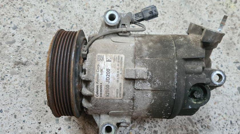 Compresor Ac Nissan Qashqai J10 2.0i MR20DE 2006 2007 2008 2009