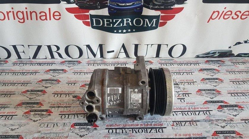 Compresor AC original Denso Fiat Punto III 1.2 67 / 69cp 55194880