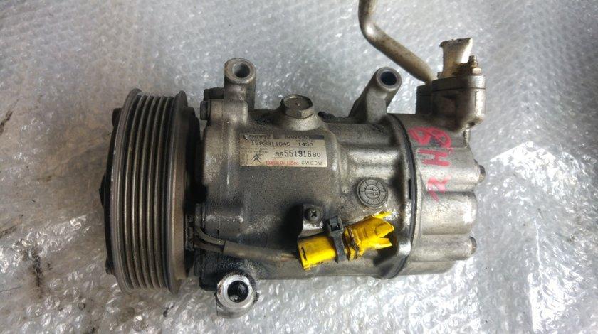Compresor ac peugeot 206 citroen c2 c3 1.4 b 1.4 hdi 1.6 hdi 9655191680