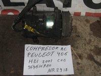 Compresor ac peugeot 406 hdi