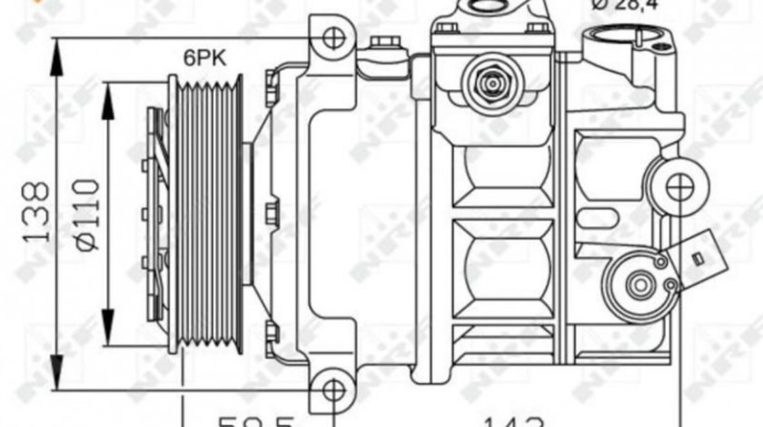 Compresor aer conditionat Audi A4 CABRIOLET (2002-2009) [8H7,B6,8HE,B7] #2 1601