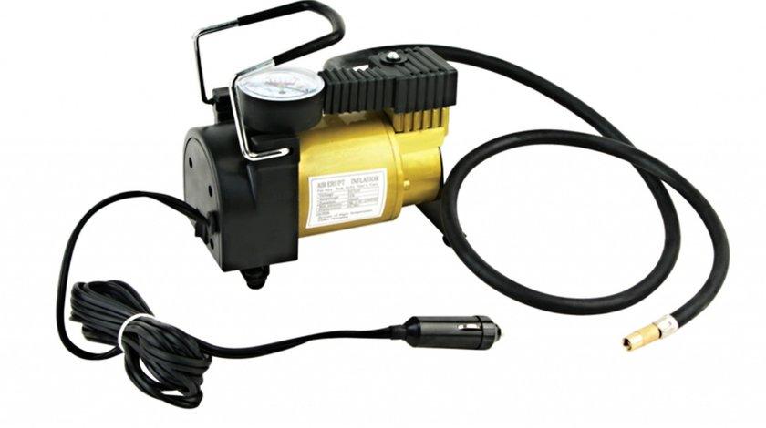 Compresor aer cu manometru 12V 35l/min. COD: FY002 / 965 / 623 VistaCar