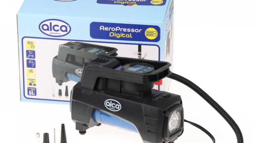 Compresor Auto Alca Digital 30L 12V 227 600