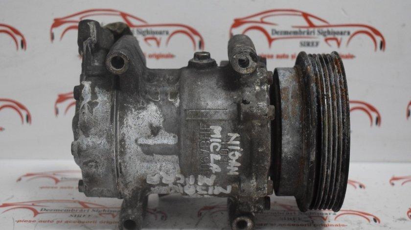 Compresor Clima AC Nissan Micra 1.5 DCI 2004 422