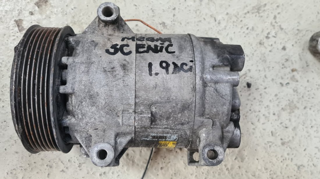 Compresor clima AC Renault Scenic Megane 2 1.9 DCI 2003 2004 2005