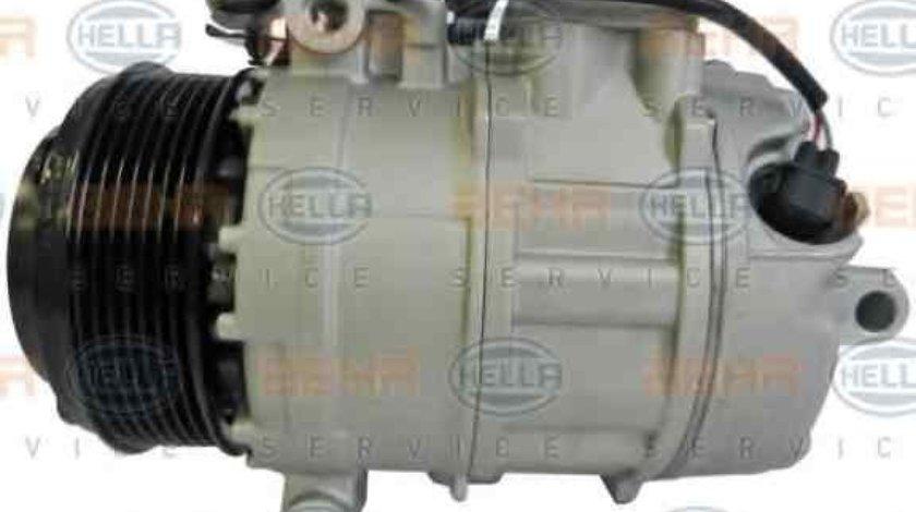 compresor clima aer conditionat BMW 5 F10 F18 HELLA 8FK 351 111-591