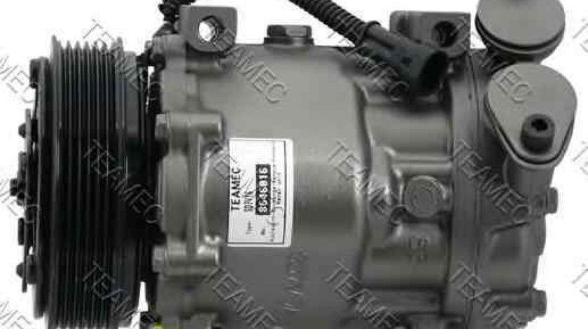 compresor clima aer conditionat FORD FIESTA V JH JD TEAMEC 8646016
