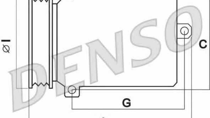 compresor clima aer conditionat MITSUBISHI COLT VI Z3A Z2A Producator DENSO DCP45003