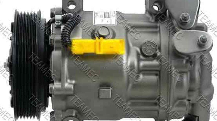 Compresor clima aer conditionat PEUGEOT 407 SW 6E TEAMEC 8608553