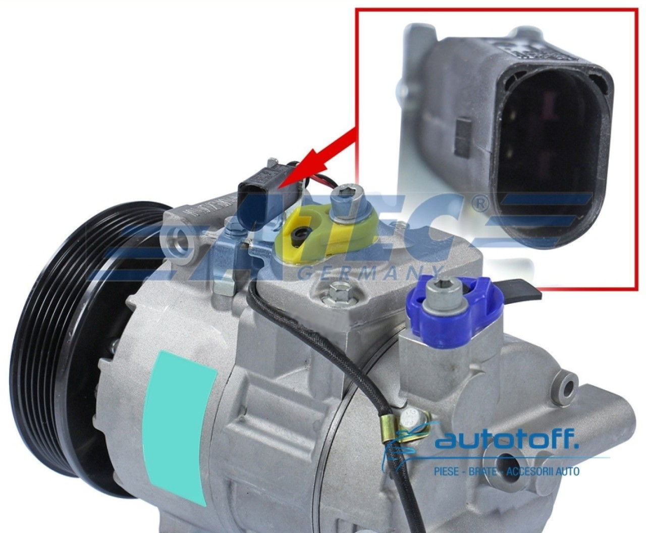Compresor clima Audi A6 4F C6 (2004-2006)