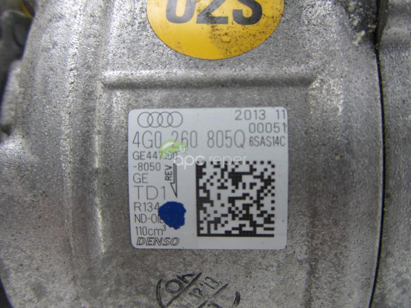 Compresor Clima Audi A6 4G cod original 4G0260805Q