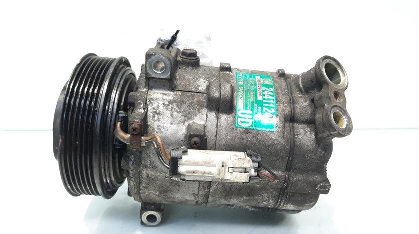 Compresor clima, cod 24411249, Opel Vectra C GTS, 2.2 DTI, Y22DTR