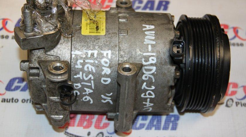 Compresor clima Ford Fiesta 6 1.4 TDCI cod: AV11-19D629-AC model 2012